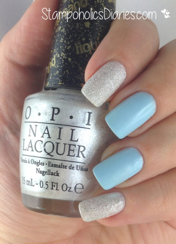 OPI Solitaire P2 Remember me Swatch.