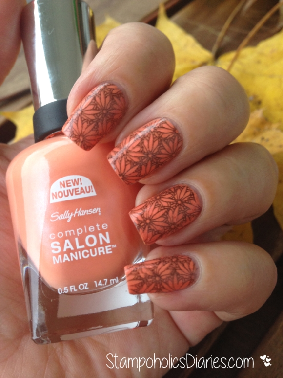 Sally Hansen Tahitian Sunset & Dashica Big SdP-O