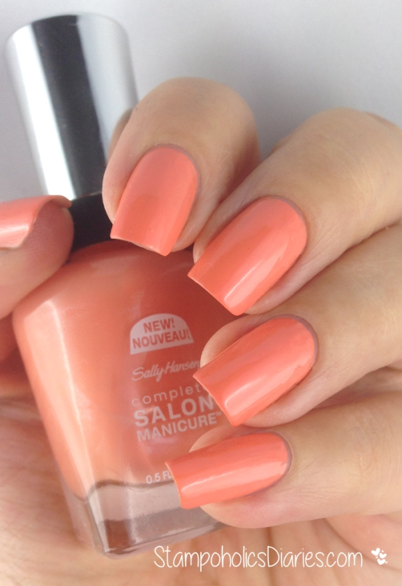 Sally Hansen Tahitian Sunset Swatch