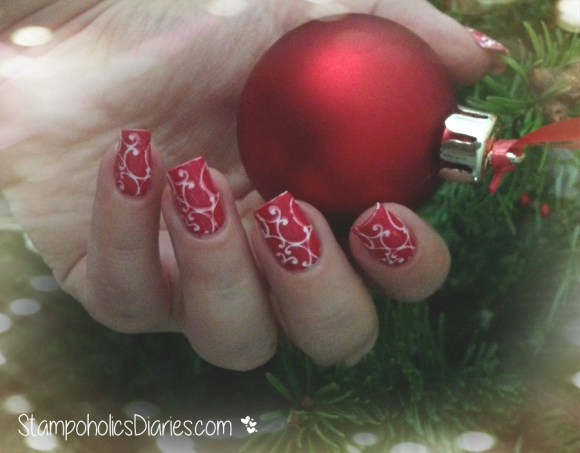 Christmas Nails MoYou Nails 84