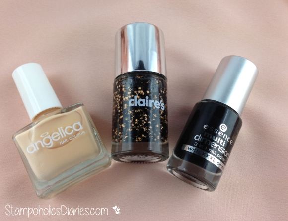 Claires Boo, Angelica Milk Caramel, Essence Fatal