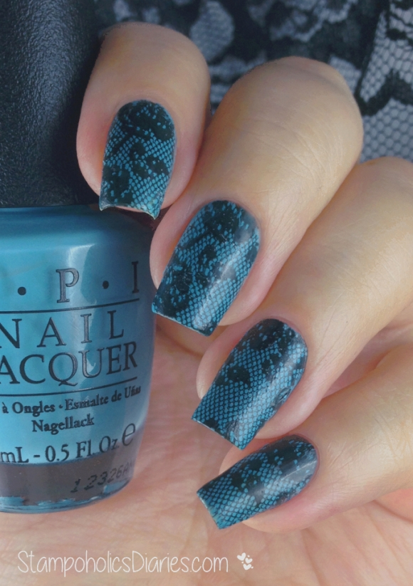 OPI Can't find my Czechbook & Marianne-Nails 57 StampoholicsDiaries.com
