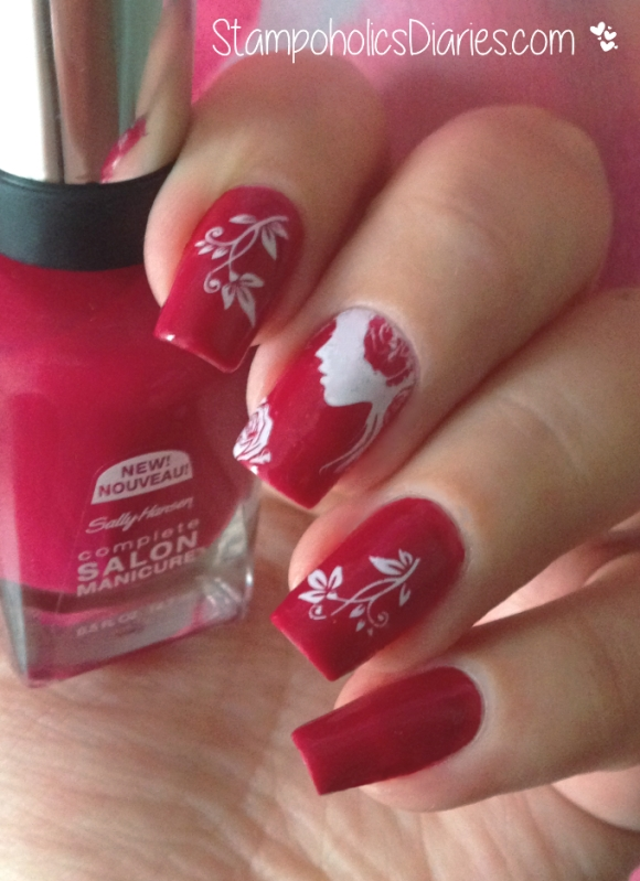 Sally Hansen Aria Red-y, Marianne-Nails N82