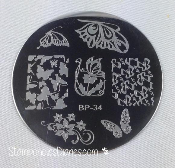 Born Pretty BP-34 StampoholicsDiaries.com