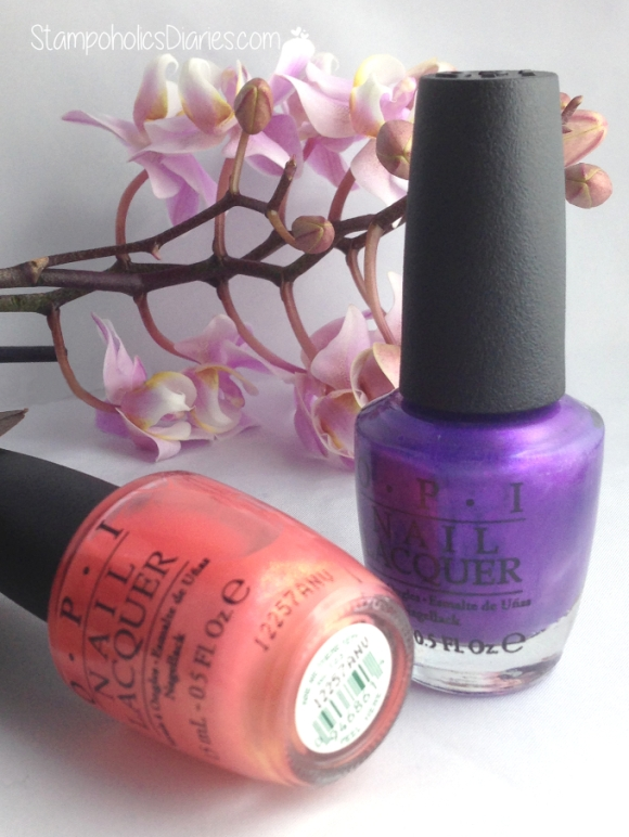 OPI Are we there yet, Purple with a purpose StampoholicsDiaries.com