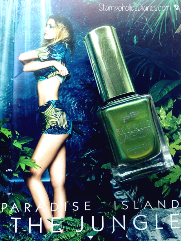 P2 Beyond Lagoon Seaweed Green StampoholicsDiaries.com