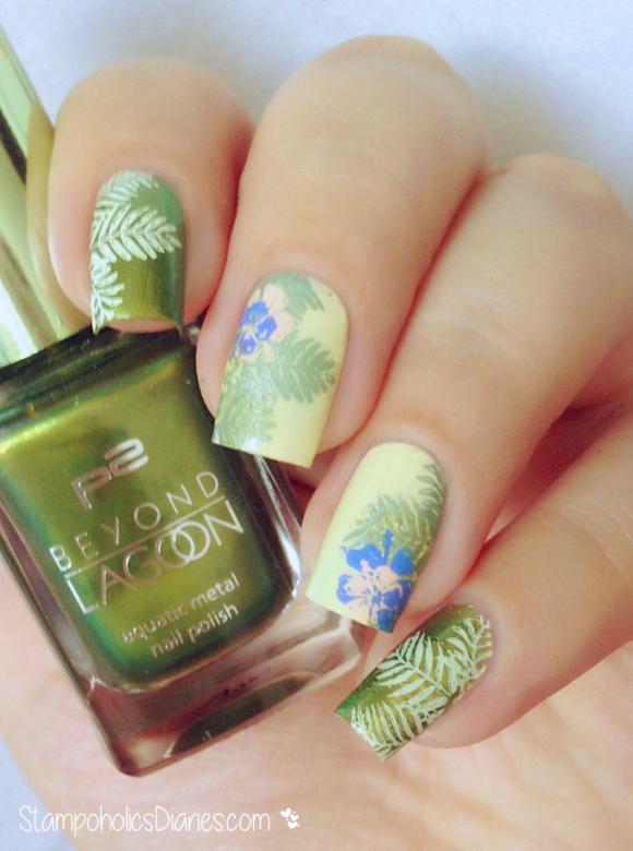 P2 Seaweed Green, Love Agent, MoYou Tropical Collection, Mundo de Unas