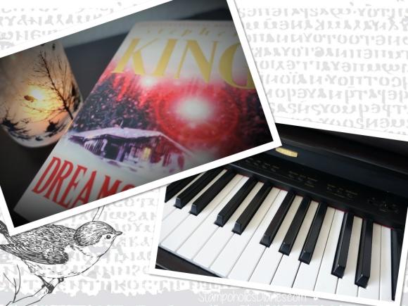 Stephen King Book Buch Piano my Hobby