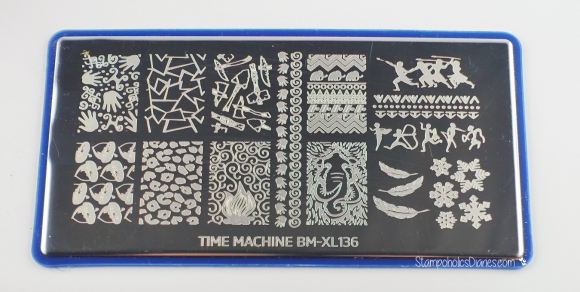 Bundle Monster BM-XL136 Stamping Plate Stampoholicsdiaries.com