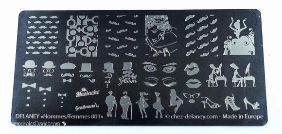 Chez Delaney HommesFemmes001 StampoholicsDiaries.com