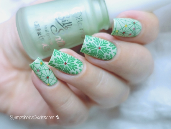 Flormar SS1, Ciate Sequin Miss Mistletoe, MoYou Enchanted collection 16