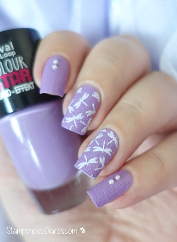 Rival de Loop Lavender Star, BP-74 Born Pretty Stamping