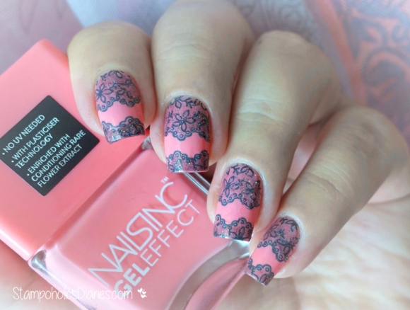 Stamping Lace Nails, Nails Inc Old park Lane, Qgirl-017